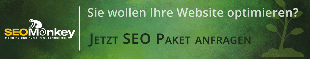 Banner Website optimieren SEO Pakete